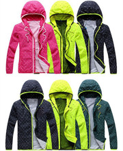 2015 New brand Spring Cool hoodies&hoody Sweatshirts men and women outdoors windproof waterproof hoodie clothing Plus Size L~4XL(China (Mainland))