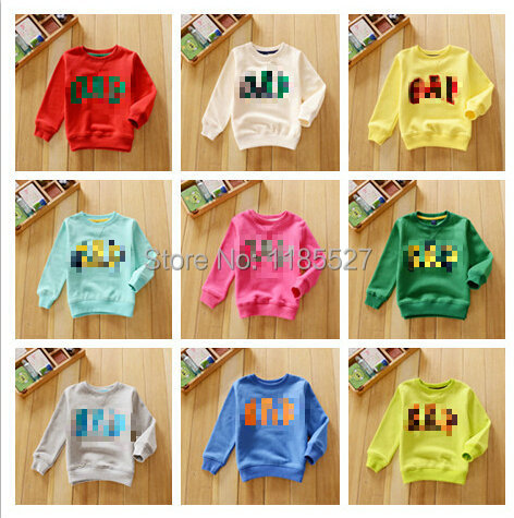 TOP hot 2014 Spring Autumn new GAPS*S kids Cotton Long-sleeved pullover Boys Girls Sweater Jacket Free shipping 17 color(China (Mainland))