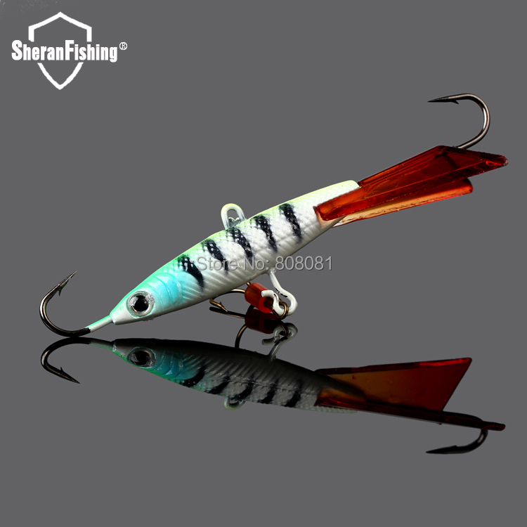 2015 Ice Fishing 25g BINHAI B003 Hard Bait Lure pesca tackle fishing lures hooks Lures - Sheran Co., Ltd. store