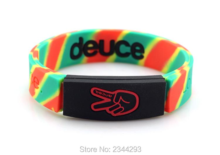 teen girls wear color wristbands