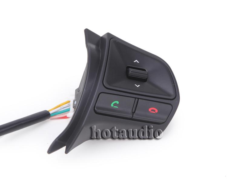 Kia K2 Rio Original Steering Wheel Audio Channel Control Buttons Bluetooth  -  HongKong Summit Trades & Technology Co., Ltd store