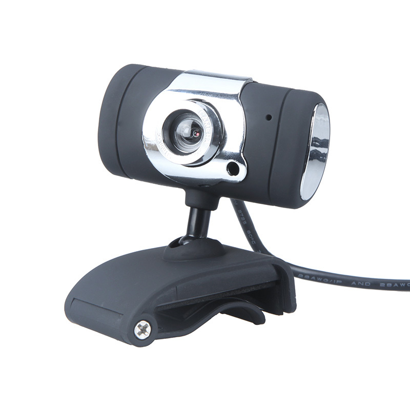 USB 2.0 30 Mega Pixel Web Camera HD Camera WebCam With MIC Microphone Black Color for Computer PC Laptop NotebooK(China (Mainland))