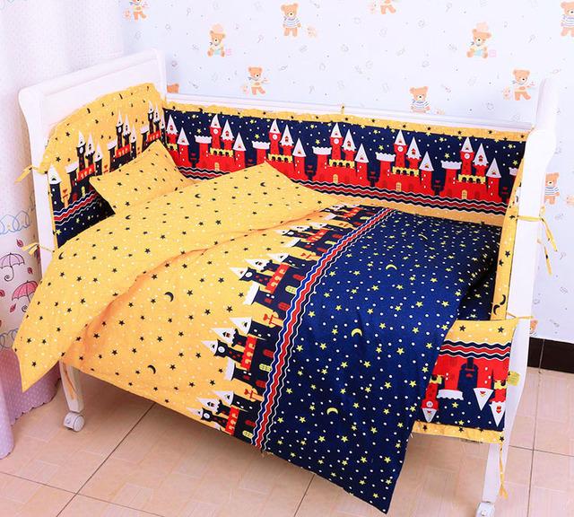 Cartoon Baby Crib Bedding