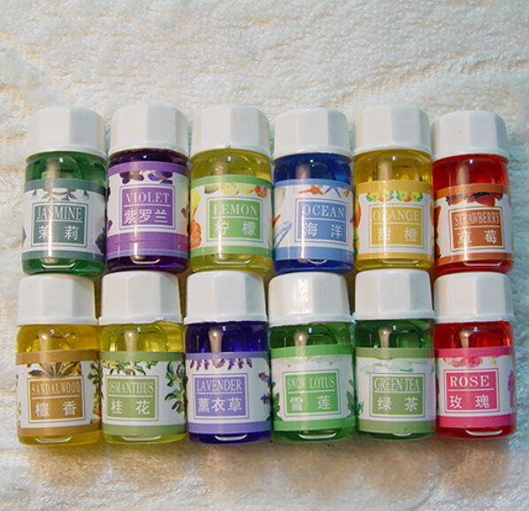 3mlx6 Handmade Soap Base Perfume Smell Scent Essential Oil DIY Hand Made Supplies 6 Flavours(China (Mainland))
