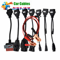Hot selling CAR CABLE OBD OBD2 full set 8 car cables diagnostic Tool Interface cable for