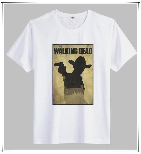 The Walking Dead Mens T-Shirts – Short Sleeve Cotton Casual Tee