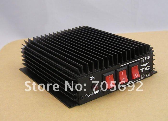 Free shipping 470-480Mhz UHF ham CB Radio Linear amplifier TC-450U(China (Mainland))
