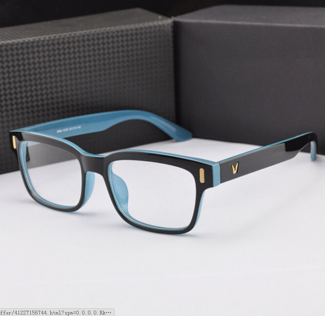 NewV-Shaped Box Eyeglasses Frame Brand For Women Fashion Men Optical eye glasses Frame Eyewear Oculos De Grau Armacao Femininos(China (Mainland))