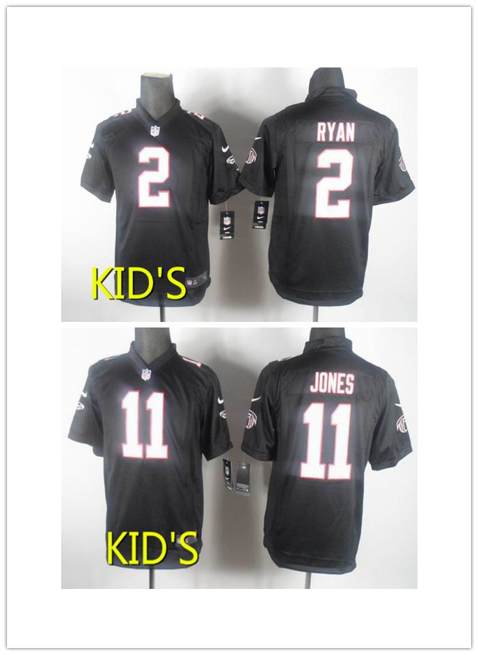 High quality Atlanta falcons # 2 # 11, free shipping for kids,south zone(China (Mainland))