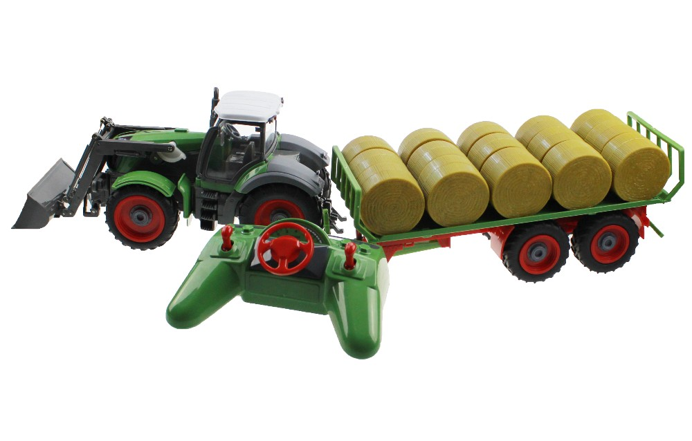 Tractor With Platform : Rc tractor channel wheel truck remote control farm