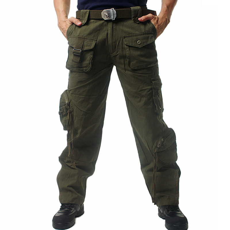 Pants With Lots of Pockets Pants Men Multi Pocket