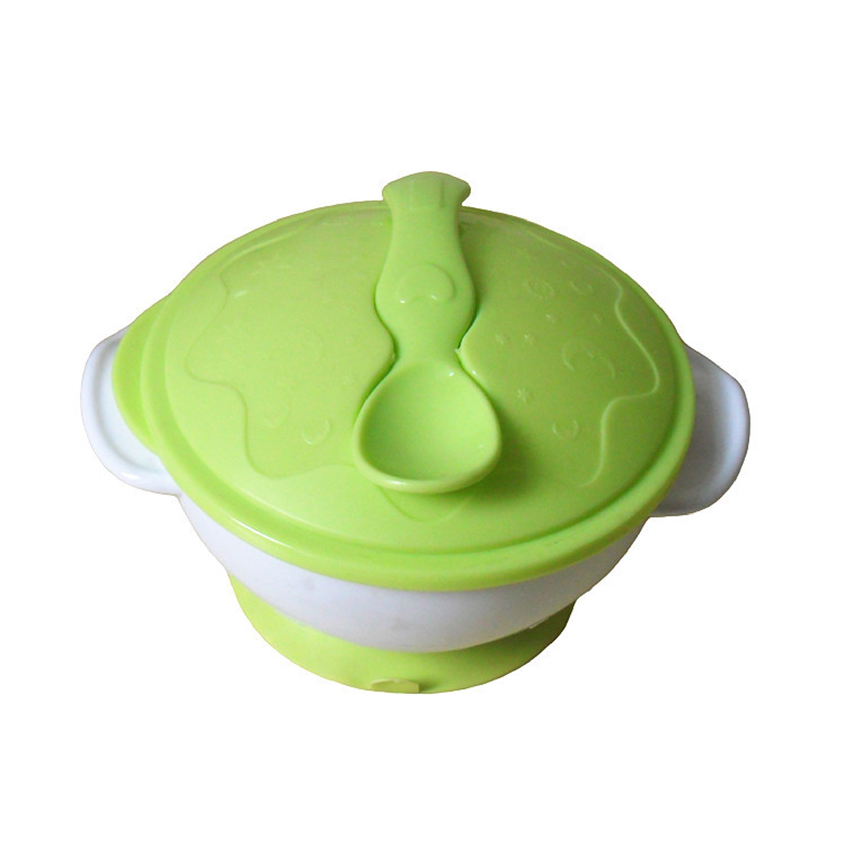 Baby Food Sucker Bowl Spoon Set Tableware Dishes Gravity Bowl Slip  Resistant Wall Suction Feeding Product
