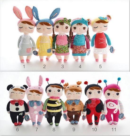 "30 cm 12"" Cute Stuffed Cloth Doll Plush Toy Metoo Rabbit Doll For Girls Gift 15003(China (Mainland))"