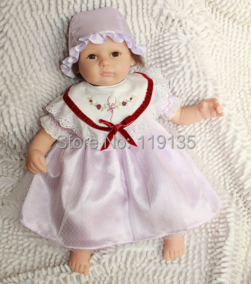 Cheap for sale Baby Reborn Dolls silicone reborn babies Fashion toys handmade simulation doll for girls and boy(China (Mainland))
