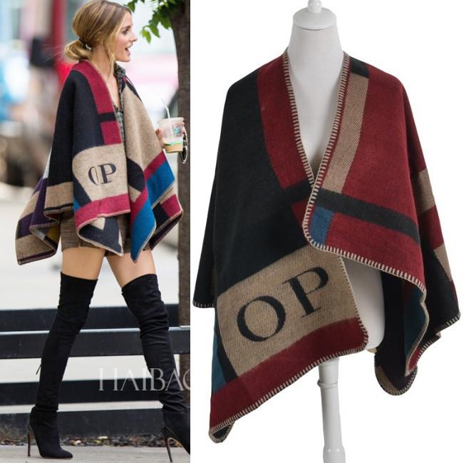 2014 Blanket Coat Cashmere Multipurpose Splicing Cape Womens Shawl Oversized Poncho Wraps Pashmina BrandОдежда и ак�е��уары<br><br><br>Aliexpress