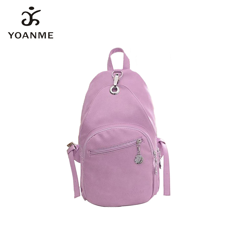 High Quality Designer Tote Backpack For Girls PU College Outdoor Sport Backpack Ladies Leather Backpack SY1054 Free Shipping(China (Mainland))