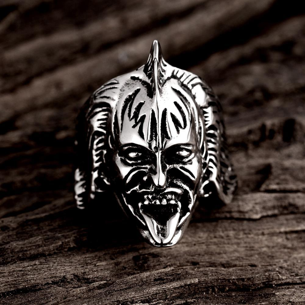 Personlity Retro Warcraft Zeus Odin-Nors Mythology Ring Men's Titanium Jewellery BR8-239 US size men jewelry(China (Mainland))