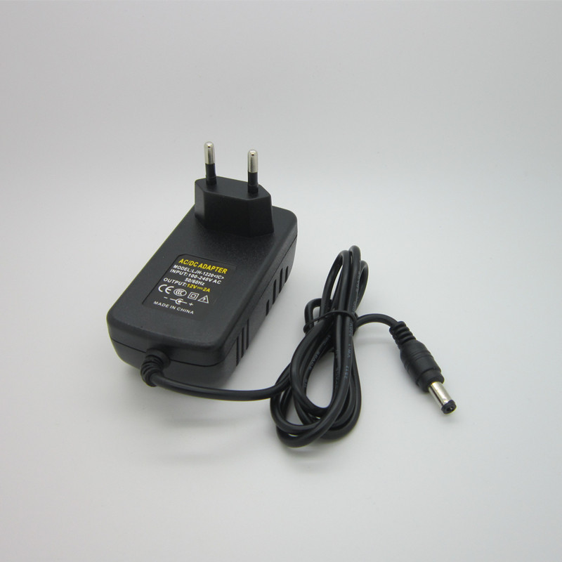 Article 12 v2a switching power supply LED lamp power supply 12 v power supply 12 v2a power adapter 12 v2a router  Free shipping