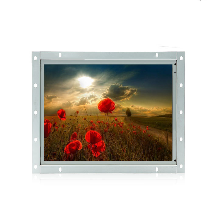 "Industrial computer 12.1"" open frame lcd monitor front panel pc(China (Mainland))"