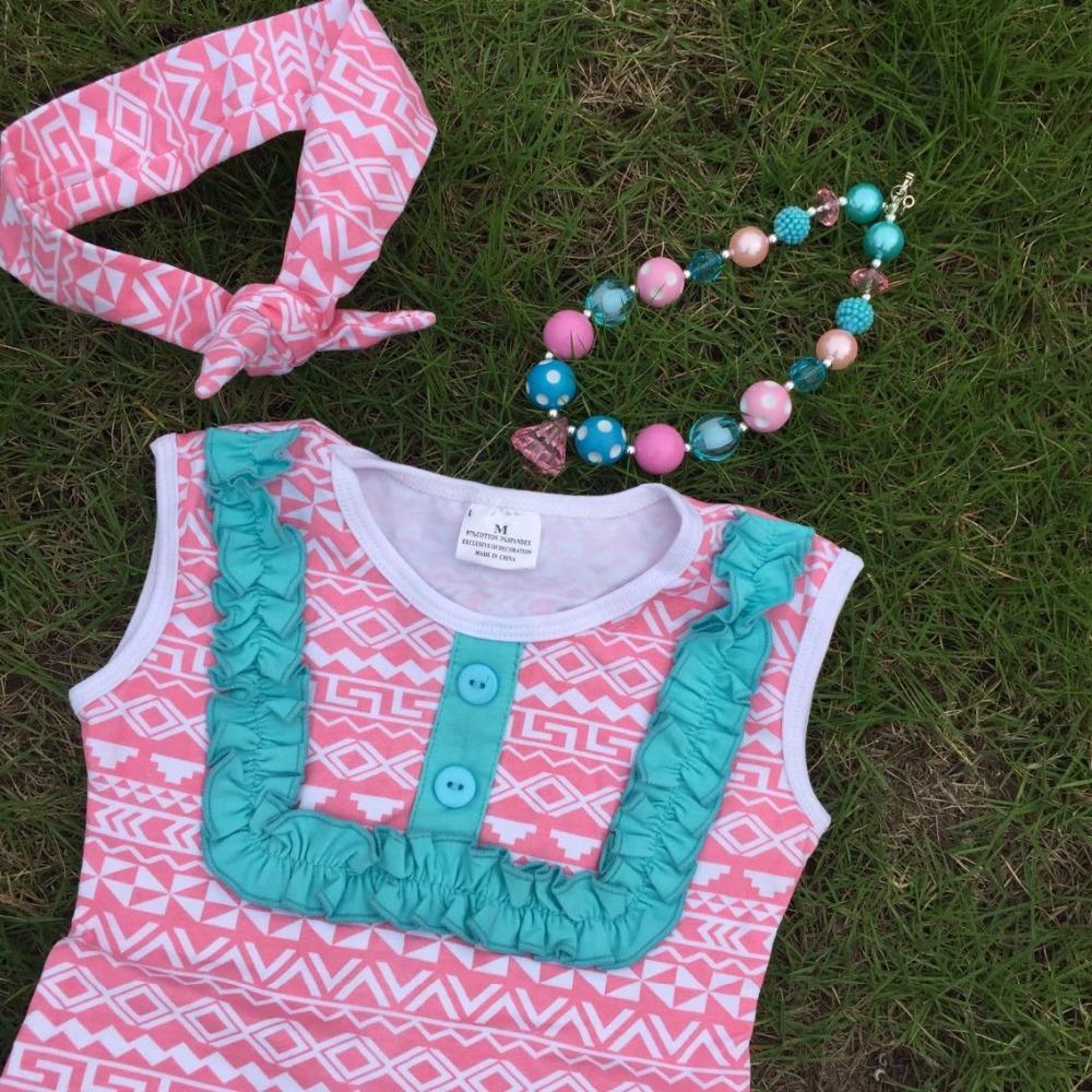 Aliexpress Buy Baby girls pink Aztec tribal clothing
