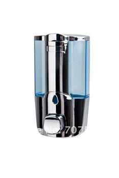 Wholesale + Low Freight Manual Single Liquid Soap Dispenser Hi-Q Plastic Lotion Hand Dispensers Wall Mounted TSD17C