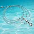 Korean version of the 925 sterling silver bell anklets