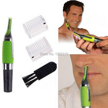 For Nose Ear Eyebrow Sideburns Unisex Green Pensonal Hair Trimmer Clipper A3116 Free Shipping VU4E3