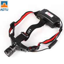 Bump focusing Mini rechargeable headlamp headlamp headlight lamp light camping night fishing lamp AT5505(China (Mainland))