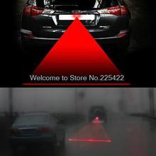 Anti Collision Rear-end Car Laser Tail Fog Light Auto Brake Parking Lamp Rearing car Warning Light car styling led car light