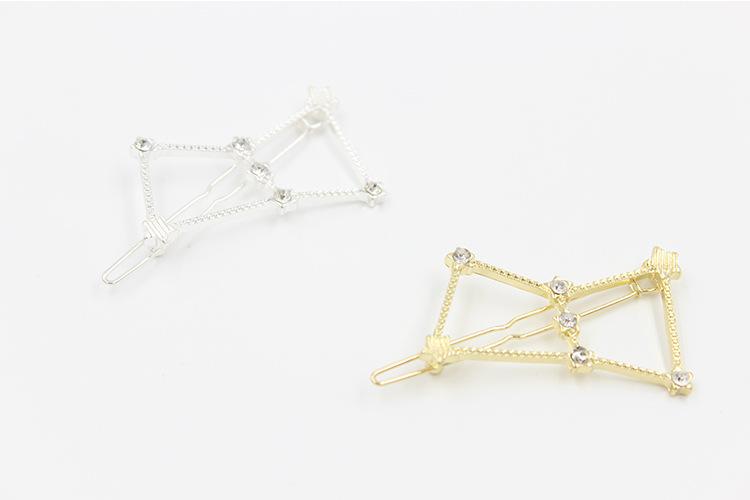 H794-379 100pcs/Lot Free Shipping korean hair accessories girls rhinstone headwear star hairpins suppliers(China (Mainland))