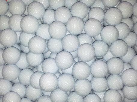 The golf completely new blank double-layer golf ball practice(China (Mainland))