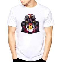Новинка, футболка для вечеринок Для мужчин Ферстаппен футболка F1 Racer Ферстаппен Графический короткий рукав мужские футболки F1 вентиляторы ...(China)