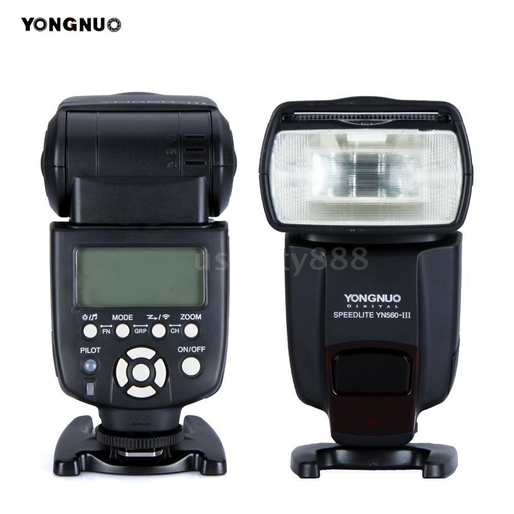 Oversea Stock YONGNUO YN560-III GN58 Camera Flash Speedlite Support RF-602/603 Speedlight for Canon Nikon Pentax Oympus DSLR(China (Mainland))