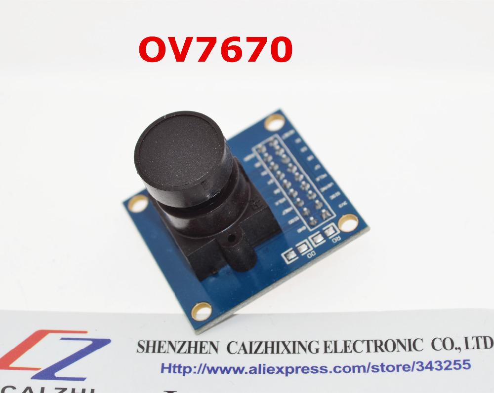 Free shipping OV7670 camera module OV7670 moduleSupports VGA CIF auto exposure control display active size 640X480(China (Mainland))