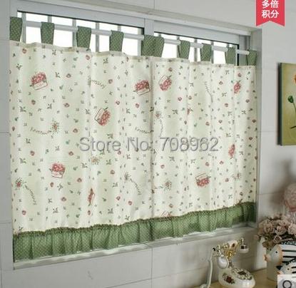 Dos paneles reci n llegado de la cocina corta cortina - Cortinas cocina online ...