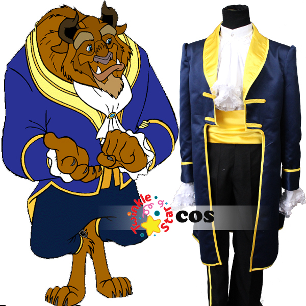 free shipping belle beauty and the beast costume cartoon