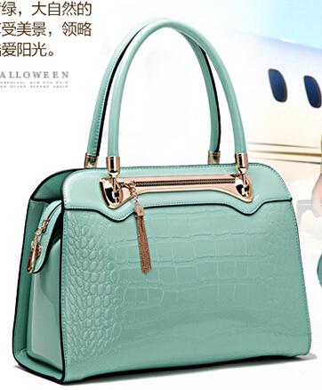 Genuine Leather Bolsas Femininas New fashion women handbag shoulder Tote vintage messenger bag handbags Bolsas   Bags F446