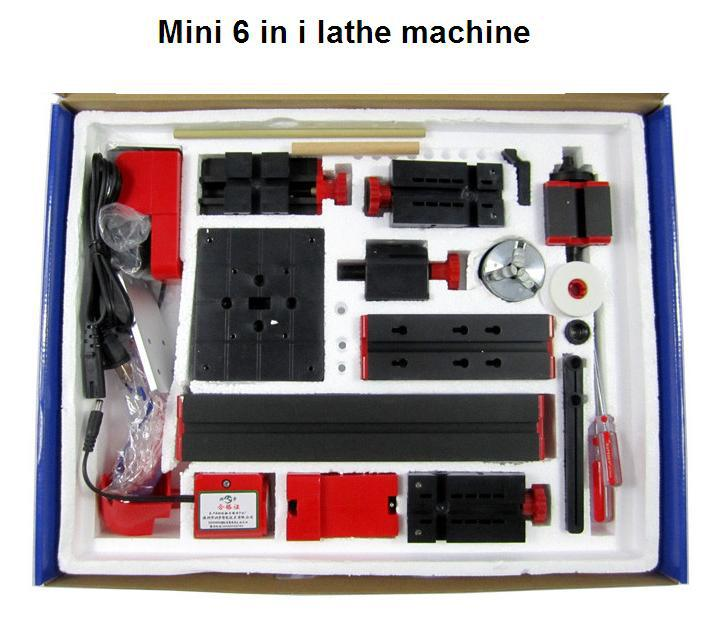 Токарный станок China brand 6 1 DIY mini lathe 6 in 1