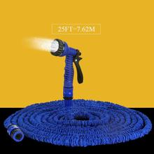 ETYA hot sale Extensible Magic flexible Garden water Hose 25ft for Drip irrigation Car Watering Pipe with sprayer(China (Mainland))