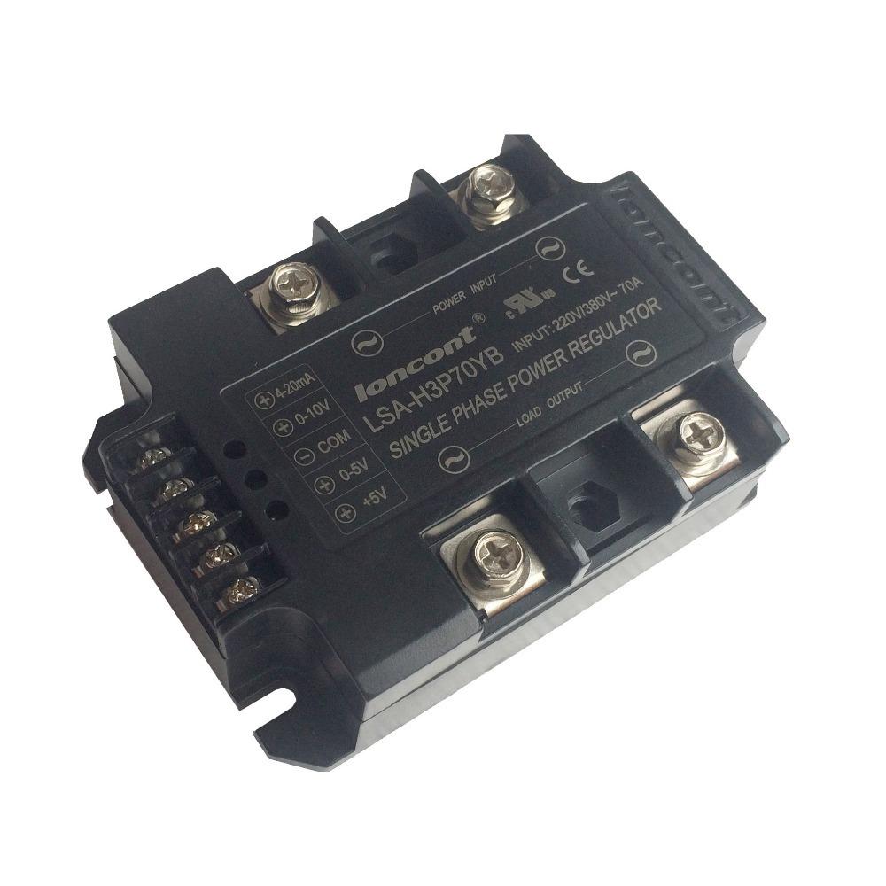 Integration single phase AC power supply voltage regulator module 70A 220V 380 Universal LSA H3P70YB Quality