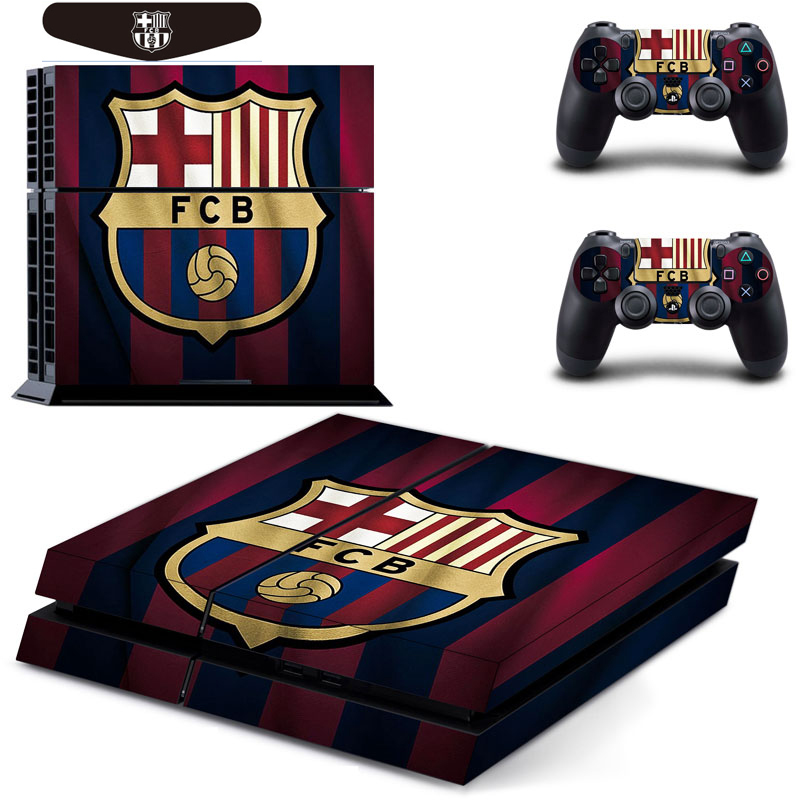 European Champion Football Team Vinyl Cover Decal Skin Sticker For Sony PlayStation 4 PS4 Console & 2 Controller Skins(China (Mainland))