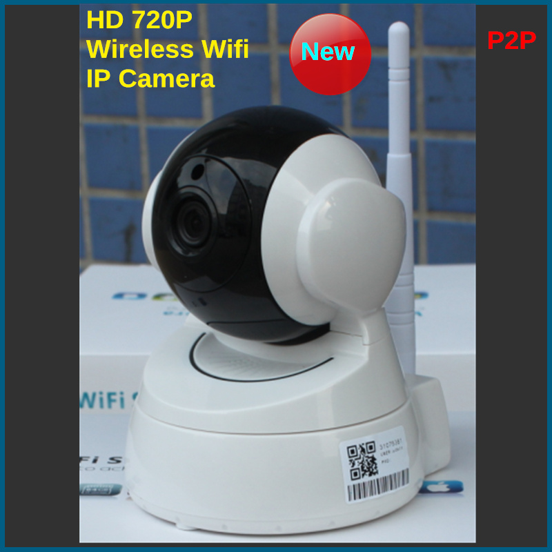 IP Camera 720P WIFI Wireless CCTV HD IR Night Vision Security Surveillance Camera System IOS Android APP<br><br>Aliexpress