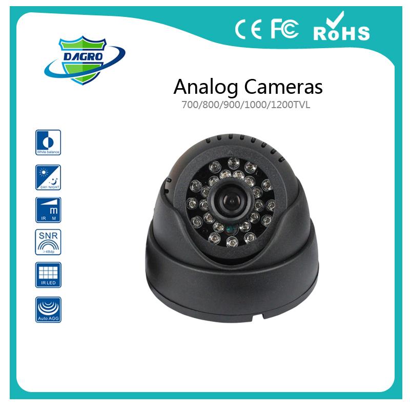 "1/3"" SONY CMOS HD 700TVL Indoor 24 LED IR Night Vision Security Mini Dome CCTV Camera System Onvif M508 Surveillance Camera(China (Mainland))"
