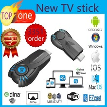 Vensmile V5II Best Smart TV Stick Ezcast Miracast Dongle DLNA Airplay Mirrorop For IOS Android OS Windows better than android tv(China (Mainland))