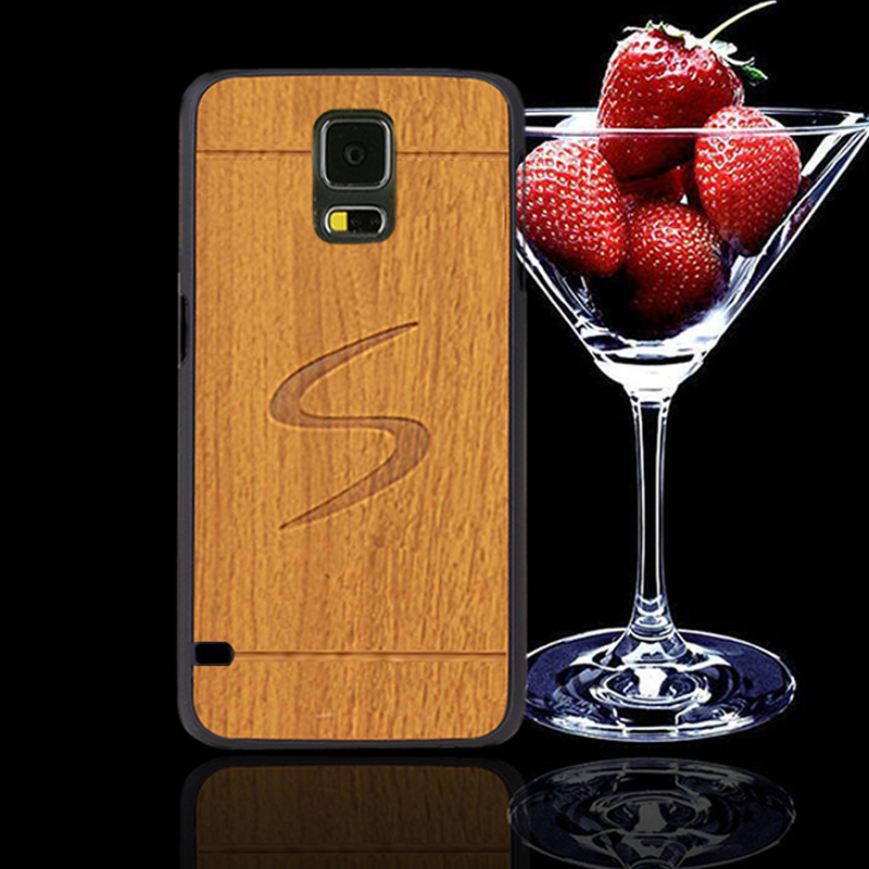 s 5 cover case for samsung galaxy s5 neo cases brand mobile phone Plastic hard case for samsung s5 vintage style wood armor(China (Mainland))