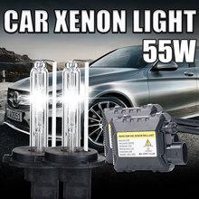 Buy 12V 55W xenon H7 Car Headlight H7 H1 H3 H8 H9 H11 881 9005 HB3 9006 HB4 4300k 5000k 6000K 8000K 10000k 30000k H7 xenon for $26.40 in AliExpress store