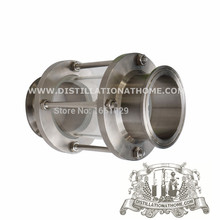 """Dioptr, Sight Tower, Sight glass 1,5""""  38mm , Stainless Steel 304, tri-clamp(China (Mainland))"""
