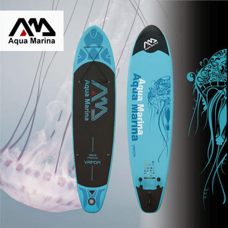 330*75*10cm AQUA MARINA 11 feet VAPOR inflatable sup board stand up paddle board inflatable surf board surfboard,inflatable boat(China (Mainland))