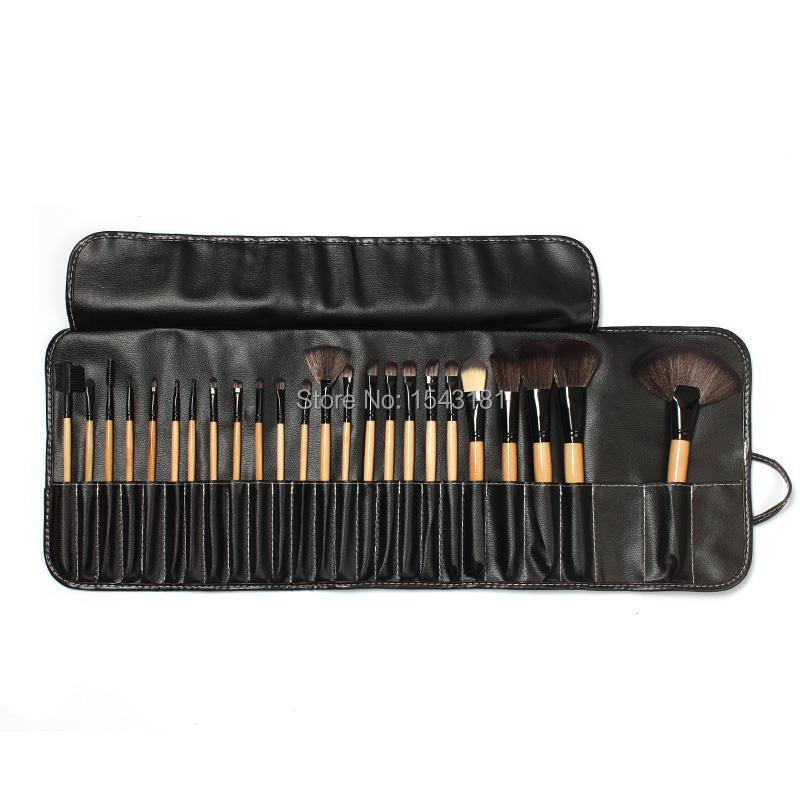 24pcs/lot Makeup brushes mc hand to make up brush set professional beauty face care foundation brush kit hot sale maquillaje(China (Mainland))