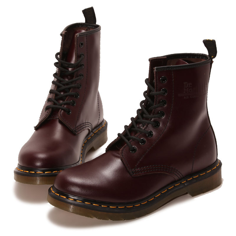 2015 Autumn And Winter Rubber Flat Martin Boots Fashion ...